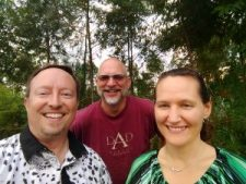 Pastor Brian, Pastor Ron, and Pastor Kelly