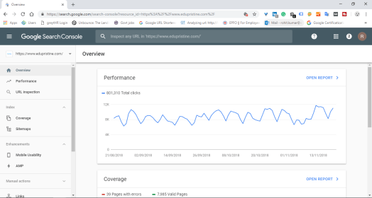 google search console seo tool