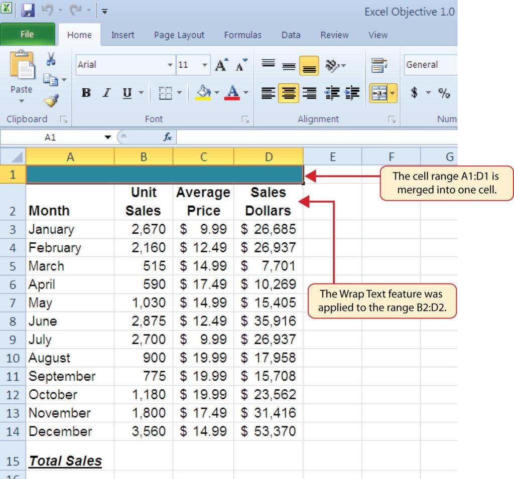 Unit 1 Excel Fundamental
