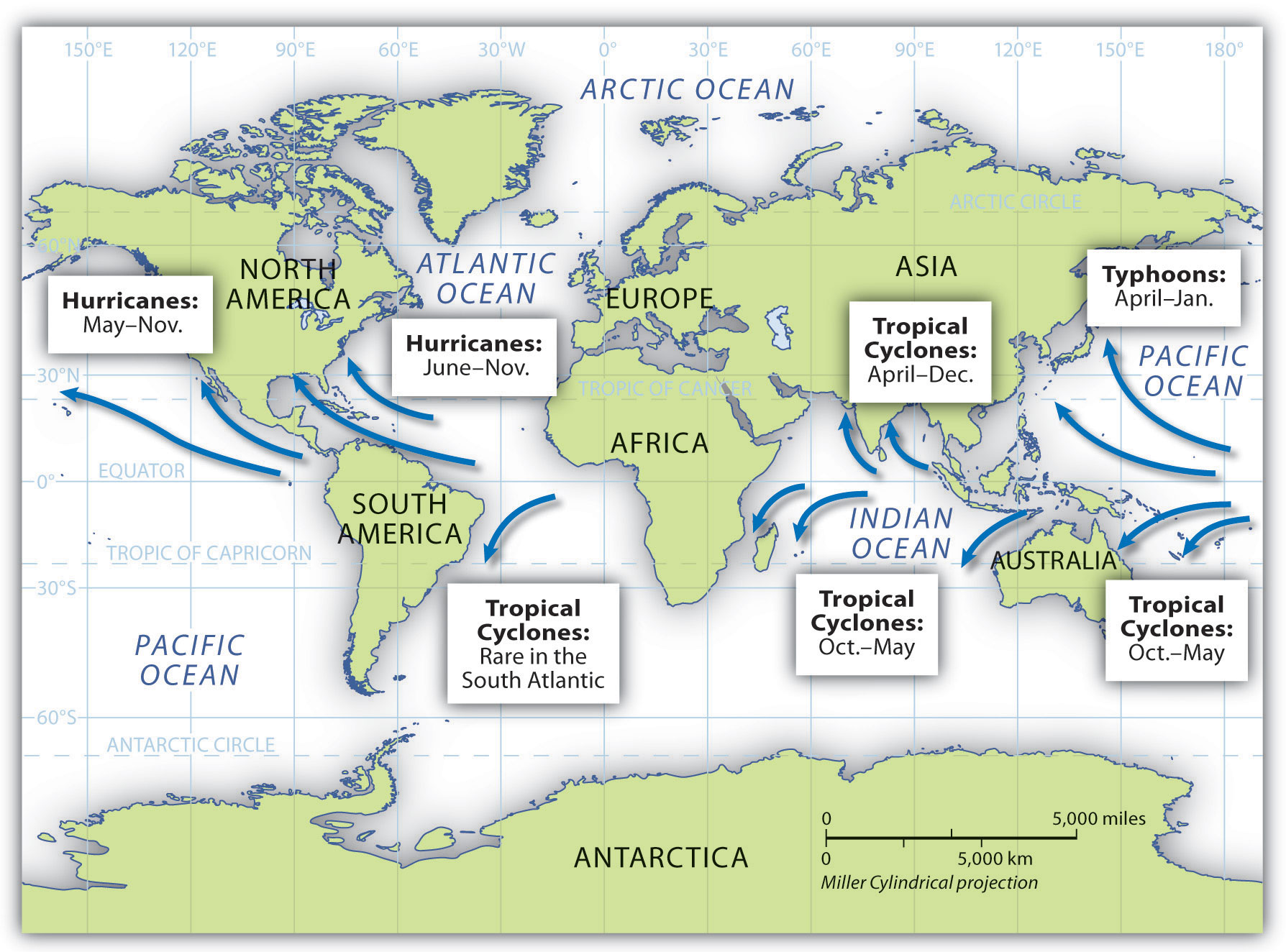 5 5 Tropical Cyclones Hurricanes