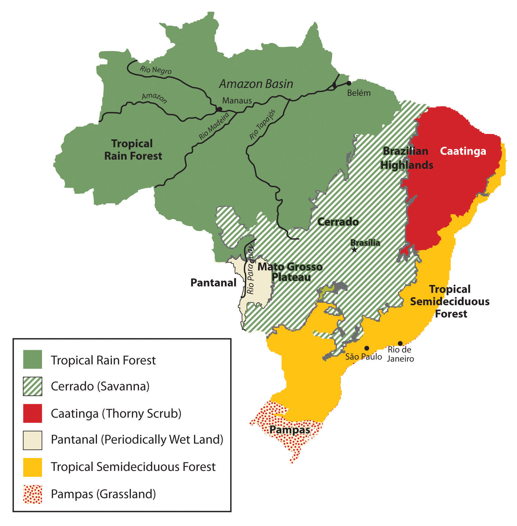 6 3 Brazil World Regional Geography People Places And Globalization
