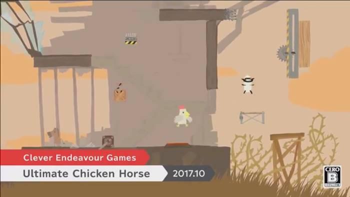 ニンテンドーダイレクト Ultimate Chicken Horse