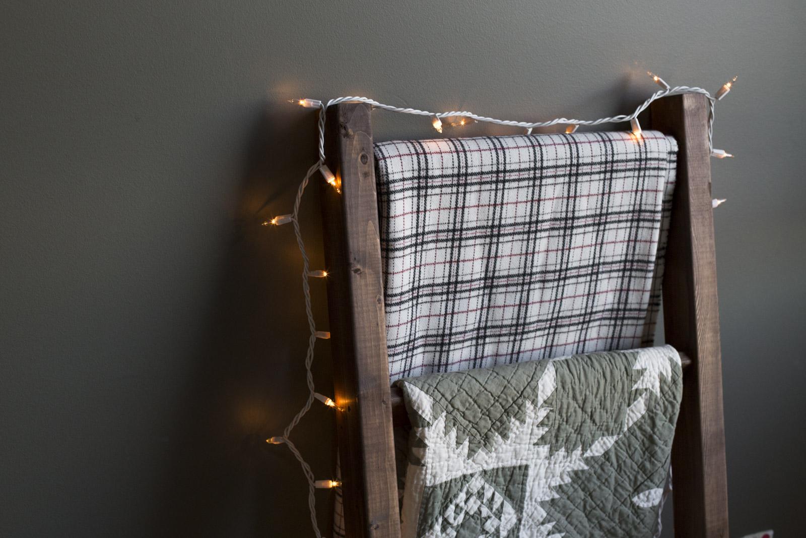 diy quilt rack how to make a blanket