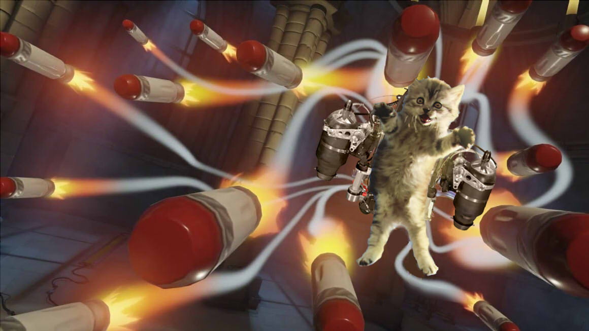 Overwatch Almost Had A Hero That Was Just A Cat In A Jetpack EGMNOW