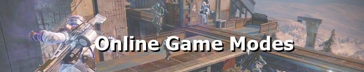 Destiny 2 Online Game Modes