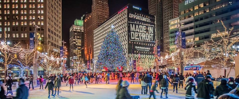 Detroit Tree Lighting Ceremony 2016 In Detroit MI Everfest