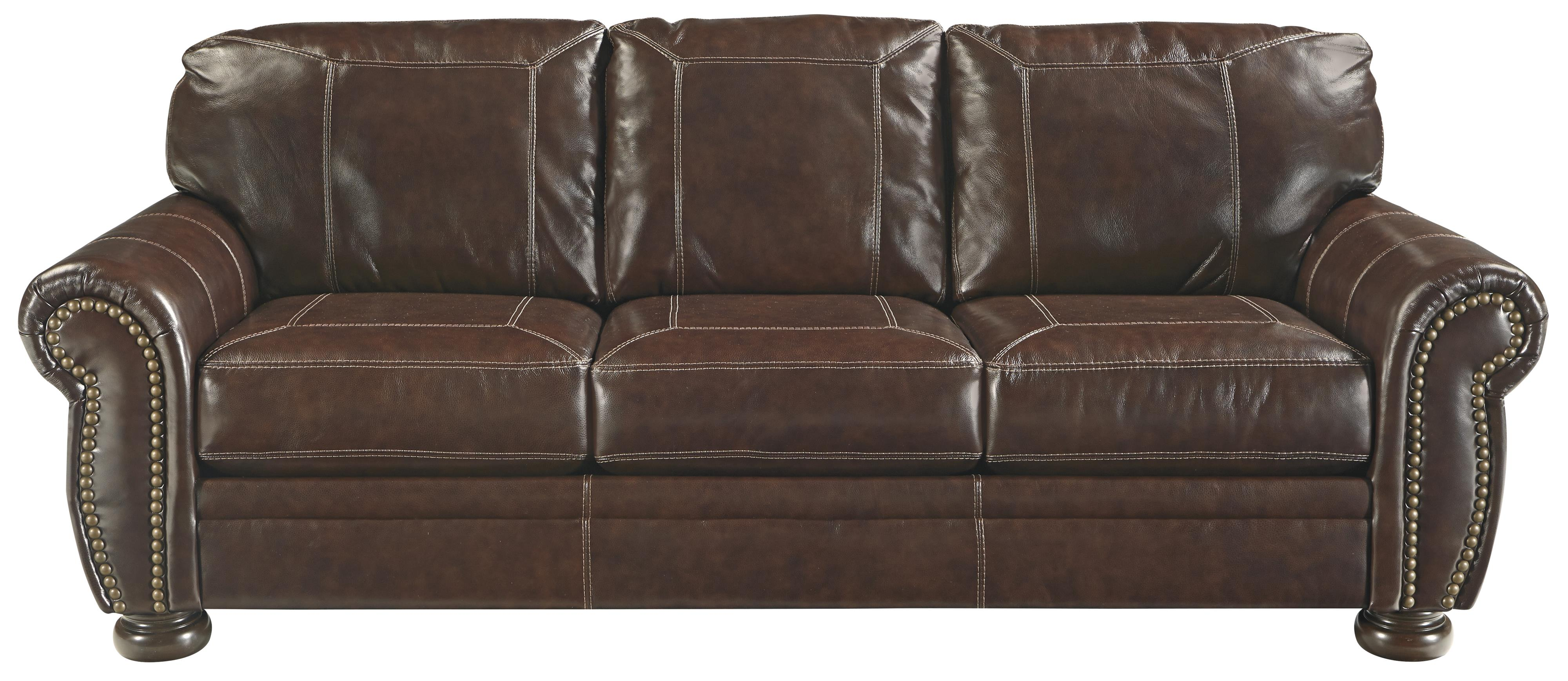 Traditional Queen Sofa Sleeper With Memory Foam Mattress
