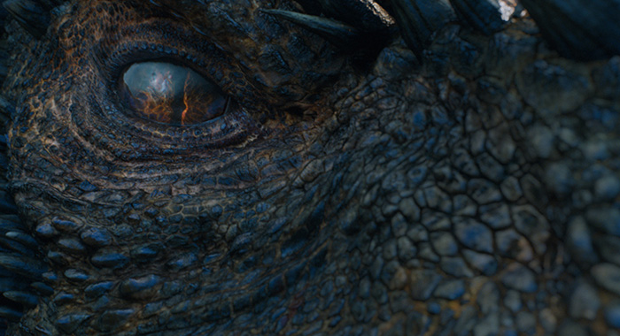 """Drogon in Game of Thrones season 7 """"Eastwatch"""" (Macall B. Polay/HBO)"""