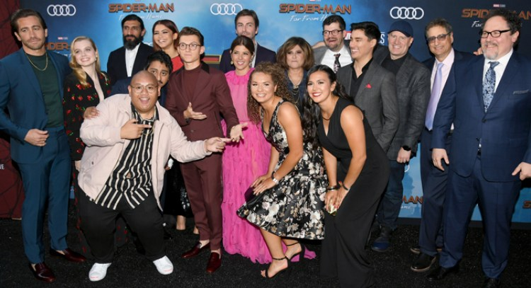 Spider-Man Far From Home cast
