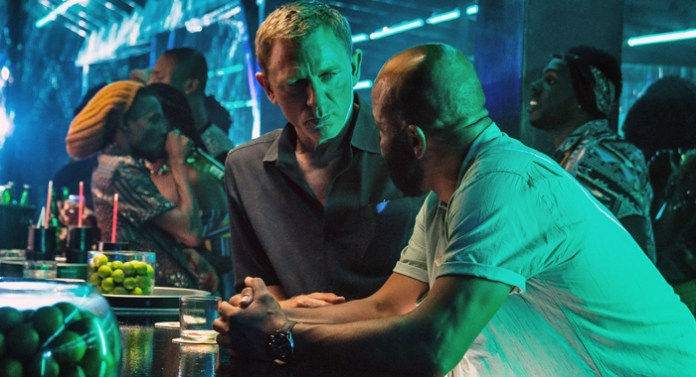 Daniel Craig and Jeffrey Wright in No Time to Die