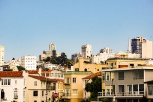 San Francisco homes and buildings