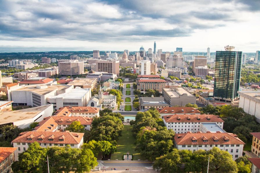 Austin, Texas, from above