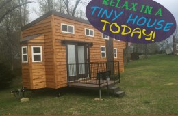 Relaxing Living in a Tiny House