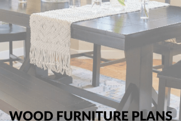 Wood Furniture Plans