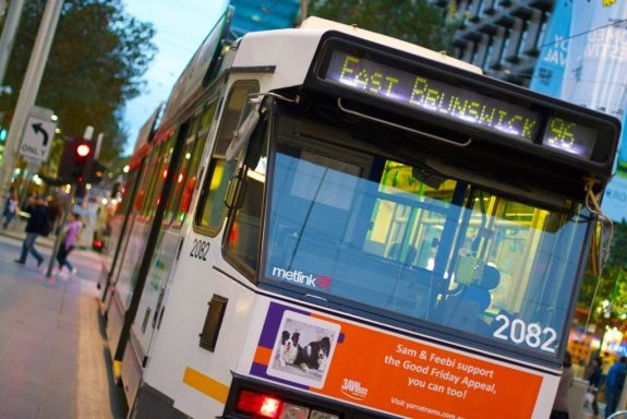 The tram system in Melbourne kicks ass and will serve your Fitzroy travel needs