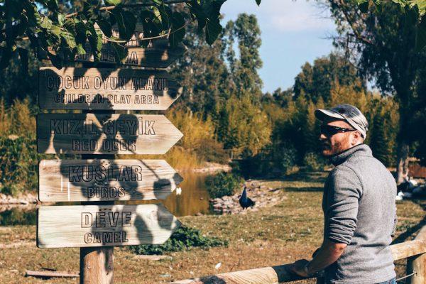 Izmir Zoo doğal yaşam parkı