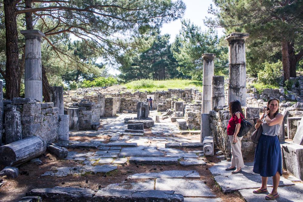 Turkey Izmir Doganbey Priene