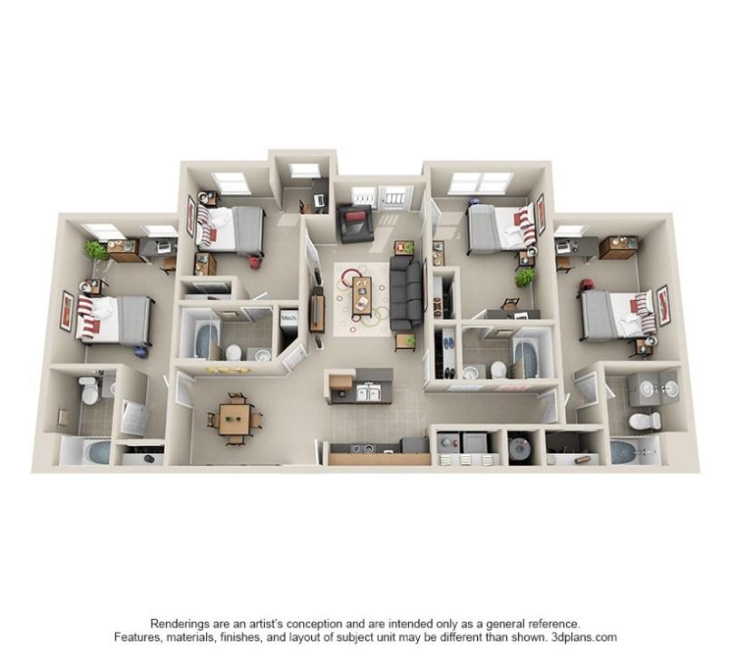 Cheap 4 bedroom apartments in atlanta ga for Cheap four bedroom apartments