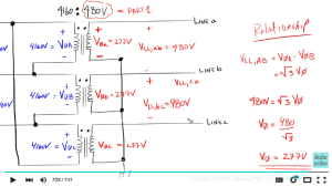Introduction to the Delta Wye Transformer Part 2