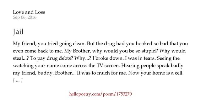 Poems People Jail