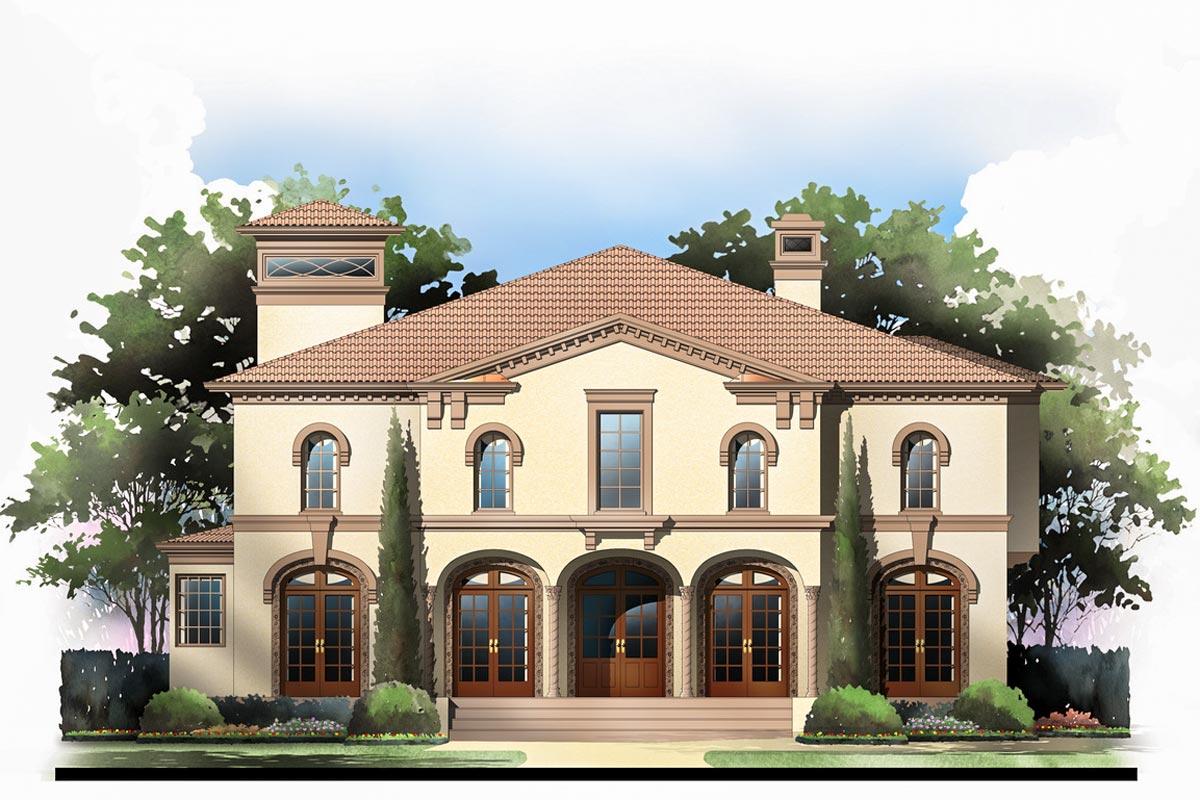 Tuscan Villa with 2 Master Suites 12282JL