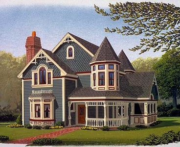 Queen Anne Style   19218GT   Architectural Designs   House Plans Queen Anne Style   19218GT thumb   01