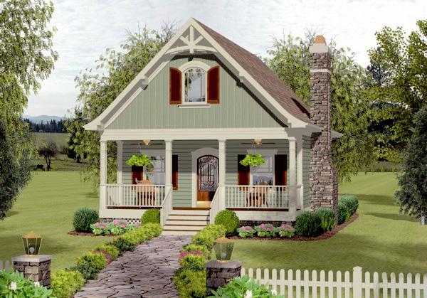 Cozy Cottage With Bedroom Loft - 20115GA