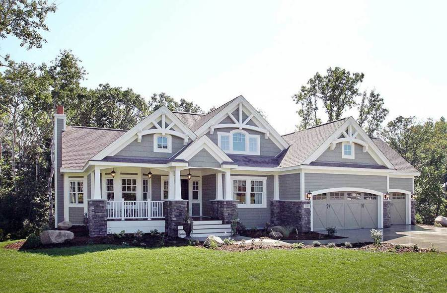 Craftsman House Plans   Architectural Designs Craftsman House Plans