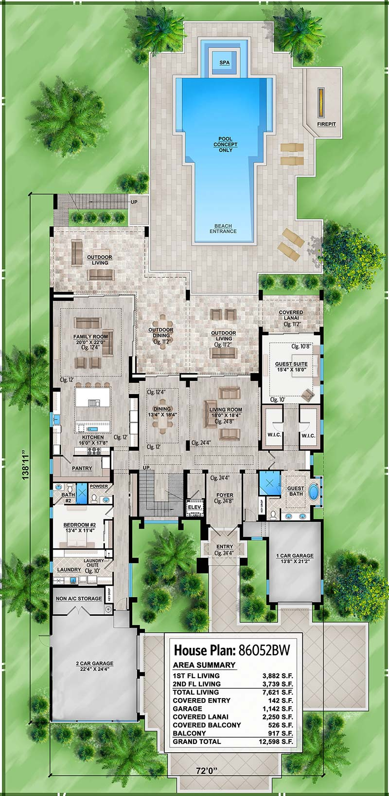 Marvelous Contemporary House Plan with Options - 86052BW ...