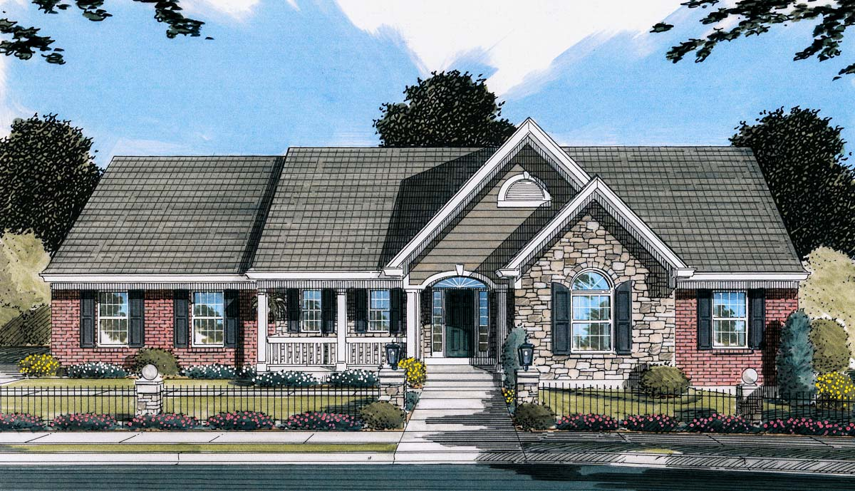 Beautiful Siding Combination - 3974ST | Architectural ... on House Siding Ideas  id=62065