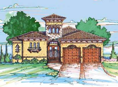Mediterranean Home Plan with Casita   4213MJ   Architectural Designs     Mediterranean Home Plan with Casita   4213MJ   Architectural Designs   House  Plans