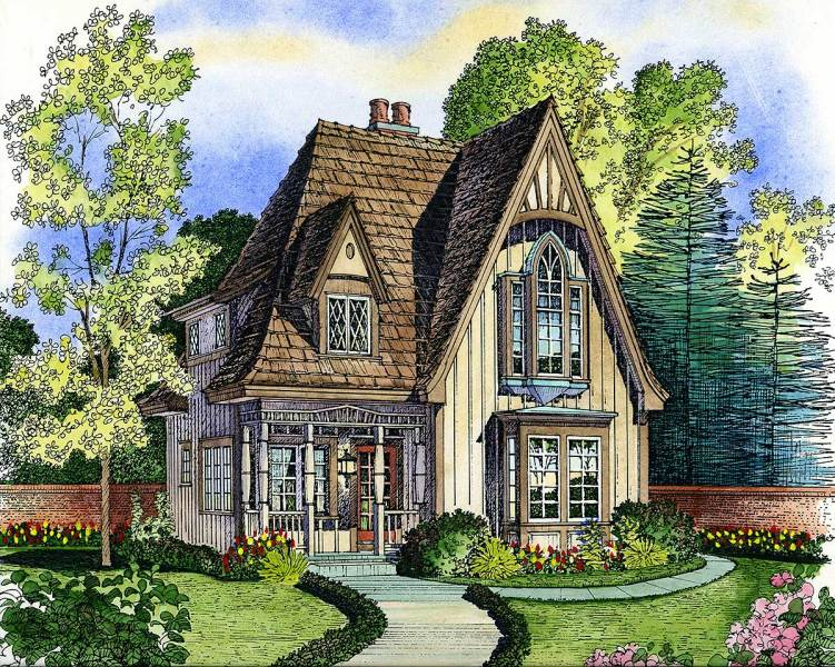 Adorable Cottage   43000PF   Architectural Designs   House Plans