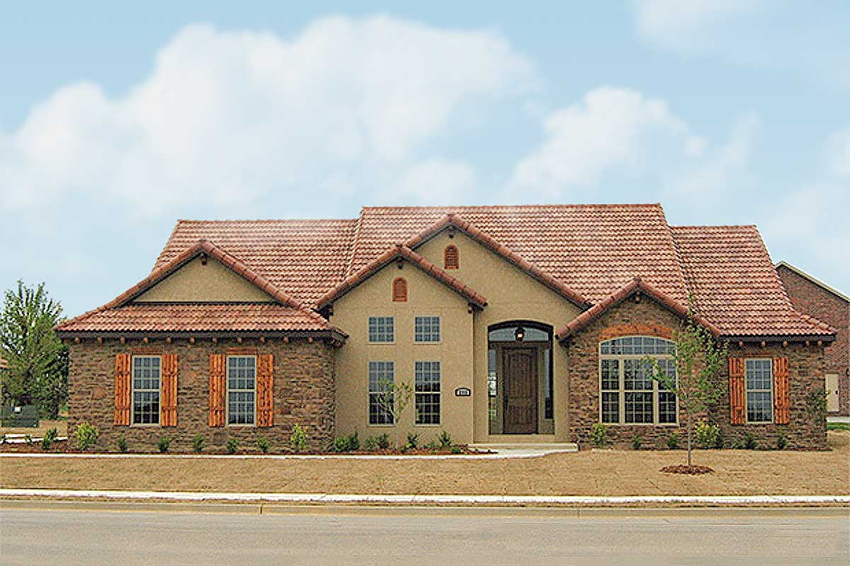 Tuscan Villa 59868ND Architectural Designs House Plans
