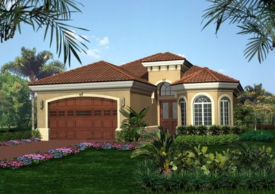 Tuscan Style House Plan 66025WE 1st Floor Master Suite