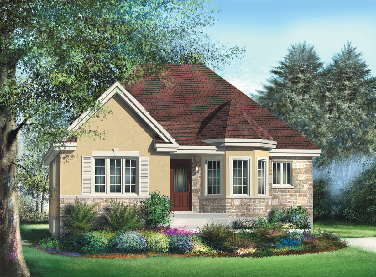 Bungalow With Turret Nook - 80366PM