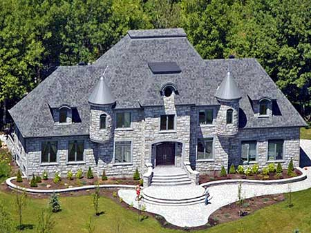 4 Bed French Chateau House Plan - 9025PD | Architectural ...