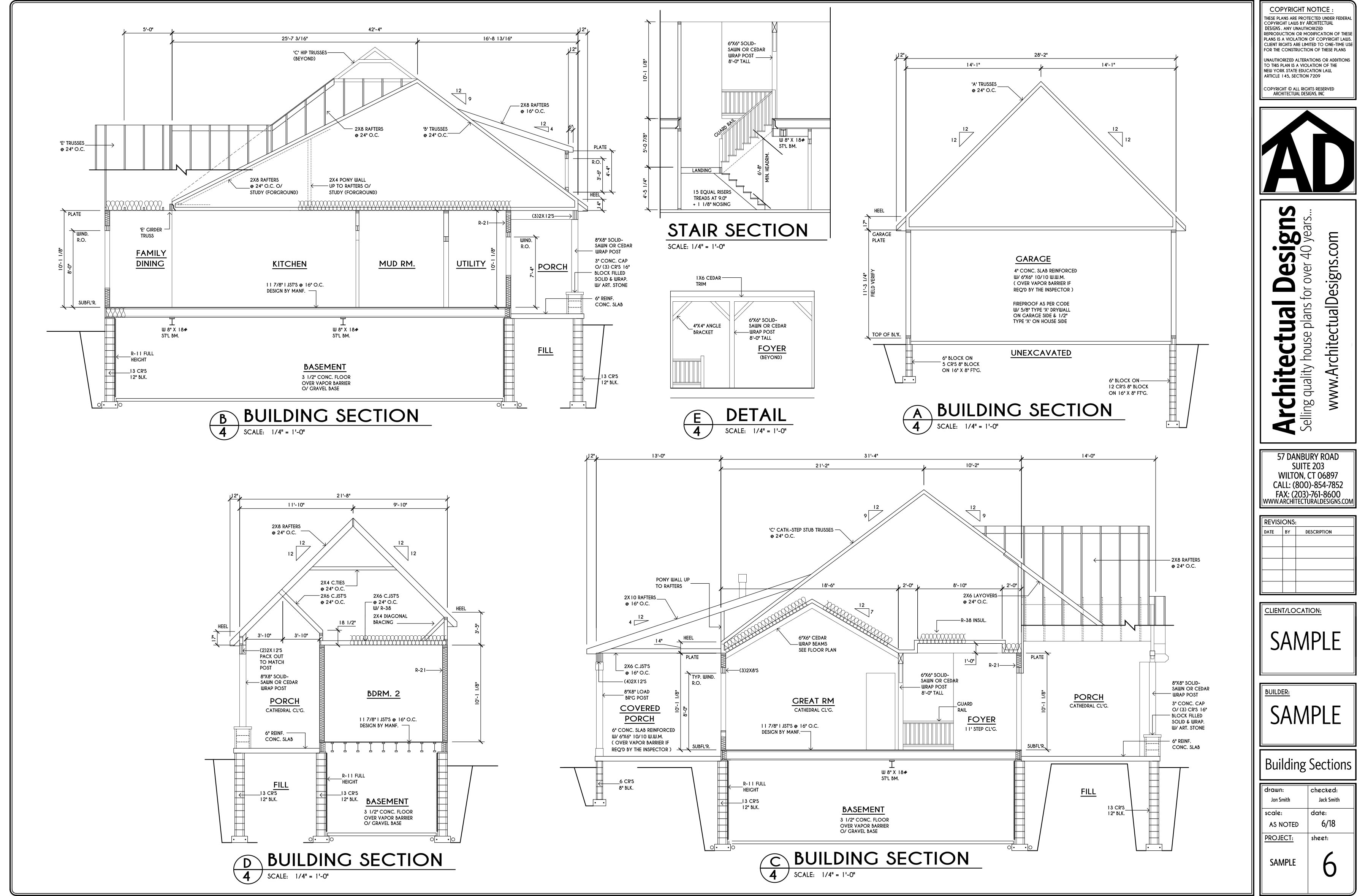 Handsome Traditional House Plan