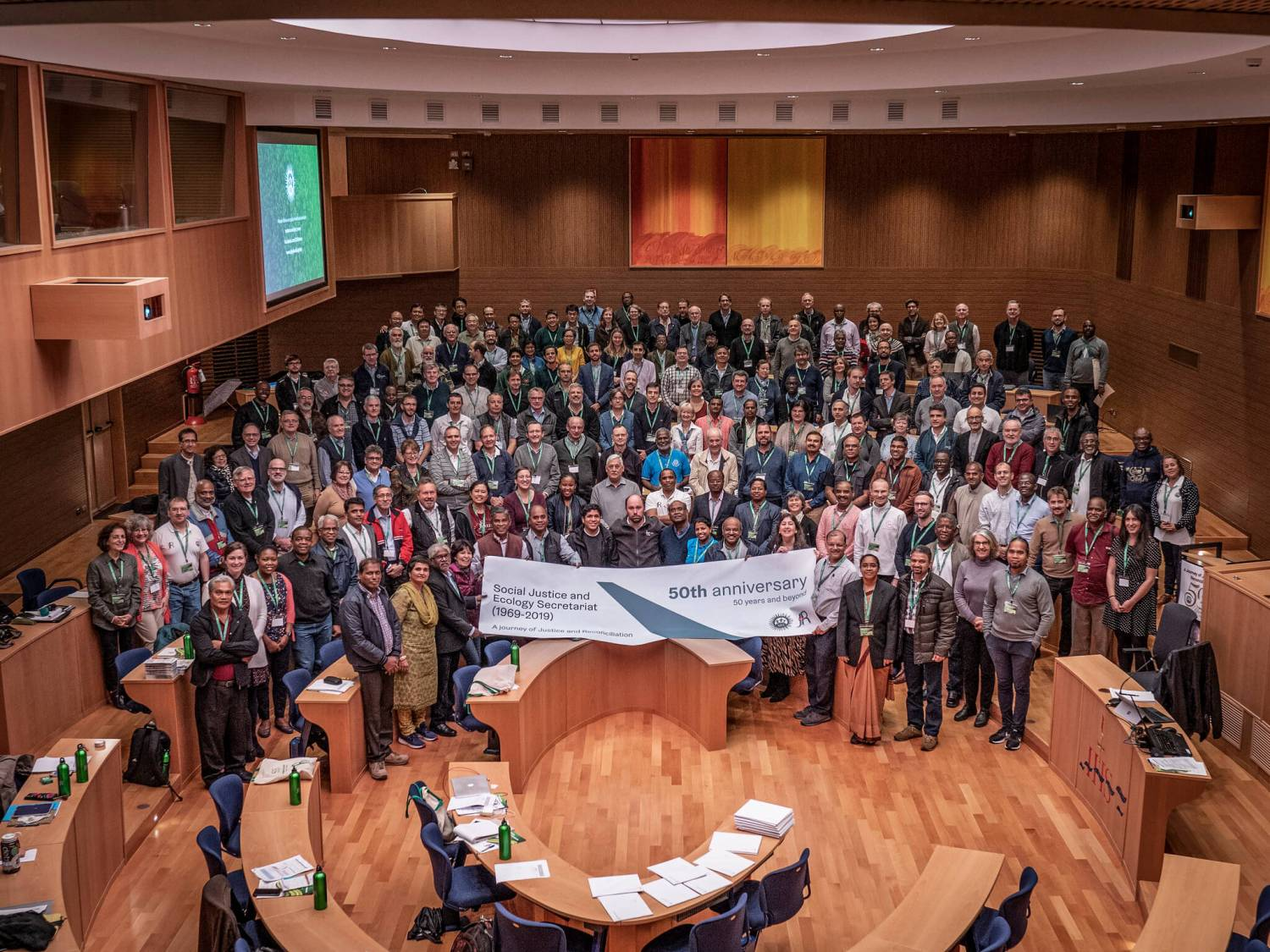 Jesuit Social Justice and Ecology Jubilee Congress Delegates