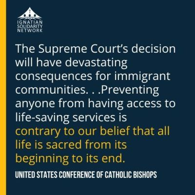 public charge, USCCB