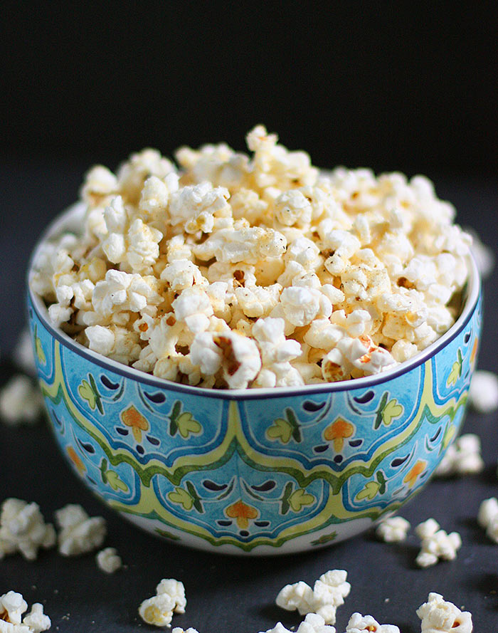 Parmageddon Popcorn - the Best Homemade Popcorn   SoupAddict.com