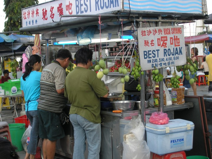 WordPress Templates: Images of Hawker Food for Rojak Store, Gurney Drive, George Town, Penang. Image Size:960x720px
