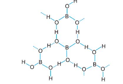 Znalezione obrazy dla zapytania beta form of metaboric acid