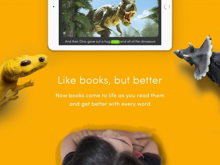 Voice activated books come to life with your words