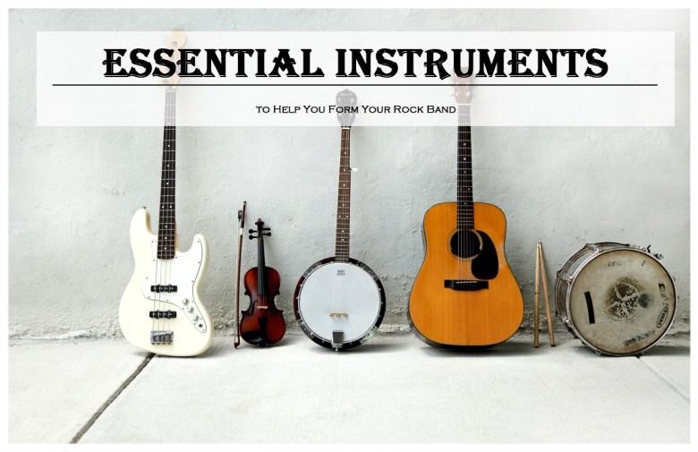 essential instruments to form rock band (2019) karaoke bananza