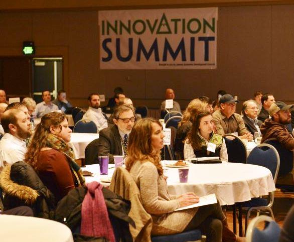 Entrepreneurs pitch ideas at Innovation Summit