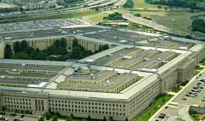 The Pentagon is located in Arlington, Virginia, just outside of Washington D.C., pictured here on Aug. 2, 2015.