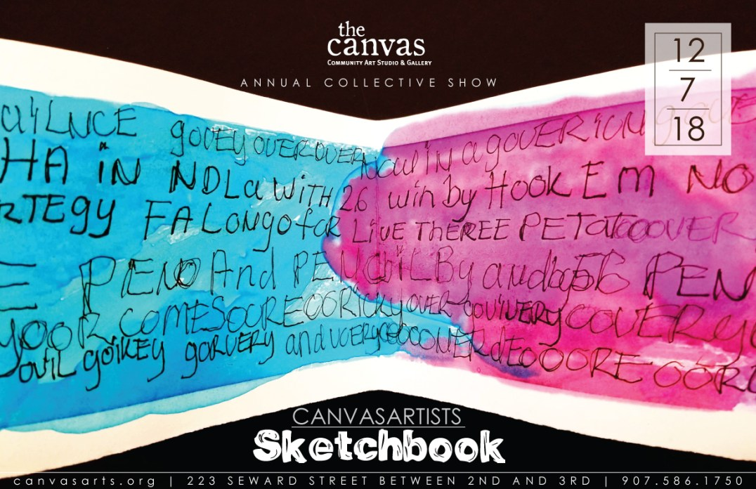 "The Canvas' show ""Sketchbook"" opens on Friday."