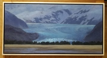 An example of Christine Lewis's art that will be for sale at her Gallery Walk opening on Friday at the Juneau Artists Gallery. (Photo courtesy of Christine Lewis)