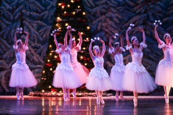 "Image taken during Wednesday night's rehearsal of ""The Nutcracker"" ballet in Juneau. (Photo courtesy of the Juneau Dance Theatre)"