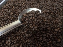 Roasted beans at Sentinel Coffee in Gustavus in June of 2018. (Photo by Scott Burton/KTOO)